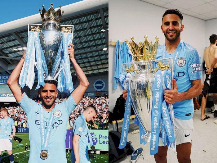 Info! Riyad Mahrez Mengaku Masih Senang Di Manchester City