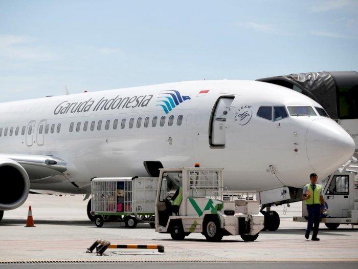 Garuda dan Kemenhub Digugat Rp100 Karena TV Pesawat Rusak