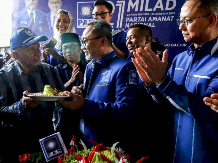 Amien Rais Tegaskan PAN Menjadi Oposisi Pemerintah