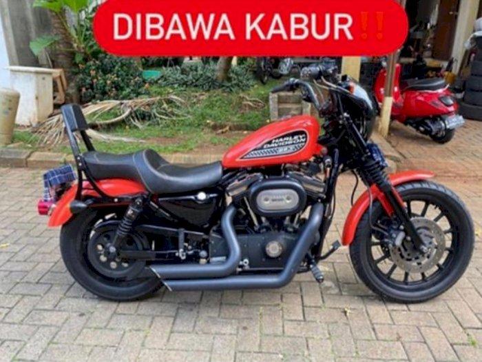 Begini Kronologi Hilangnya Harley Davidson di Tangsel saat Dijual