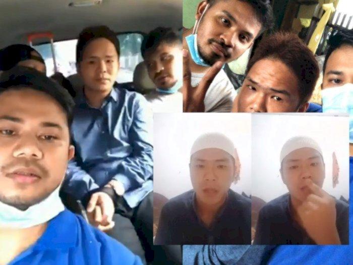 Pemuda yang Viral Ancam Penggal Polisi Jika Menahan Rizieq Shihab Akhirnya Diperiksa