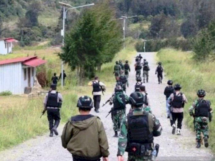 Satgas Nemangkawi TNI/Polri Berhasil Kendalikan Situasi di Beoga Puncak