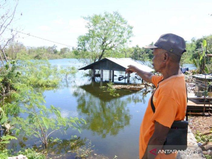 Usai Dilanda Badai Seroja, Danau Baru Muncul di Kota Kupang
