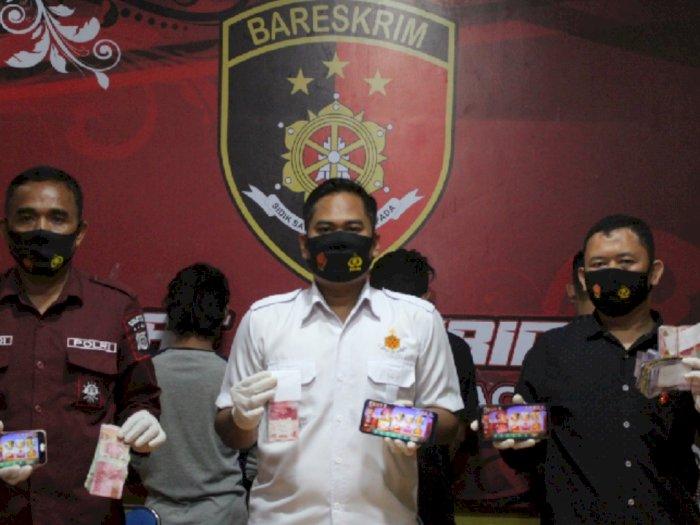 Empat Bandar Chip Judi Online Diringkus Polresta Banda Aceh, Satu Anak Di bawah Umur