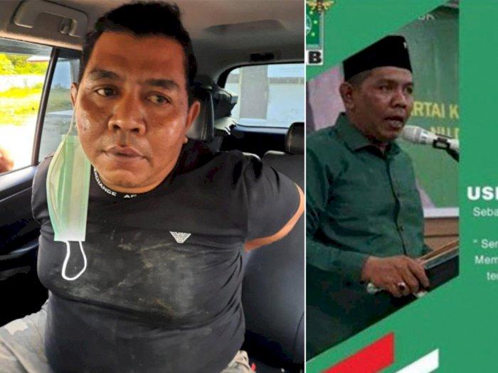 Anggota DPRD Biruen Usman Sulaiman Jadi Gembong Narkoba, Dibekuk BNN Bawa Sabu 25 Kg