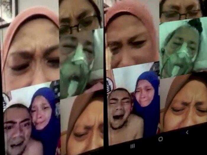 Video Haru, Semua Anak-anak Ucapkan Selamat Tinggal ke Ibu Mereka hanya Lewat Video Call