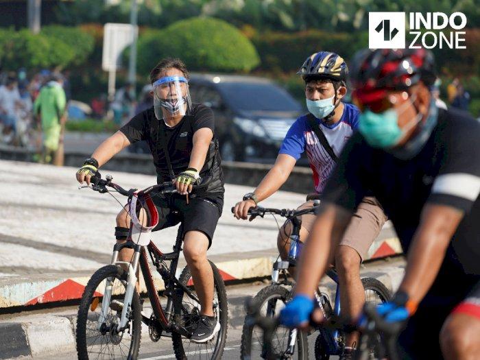Dishub DKI Klaim Pengguna Road Bike di JLNT Naik hingga 74%