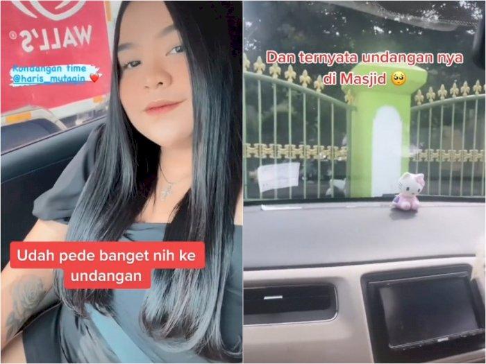 Pakai Gaun Terbuka saat Undangan, Wanita Ini Pilih Tak Turun dari Mobil karena Menghormati