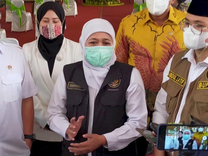 Khofifah Sebut Ada 3 Kasus Covid-19 Varian India di Jawa Timur