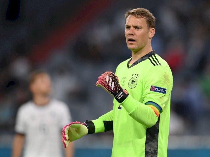 Kenakan Ban Kapten Pelangi Pro LGBT, Manuel Neuer Sempat Diselidiki UEFA