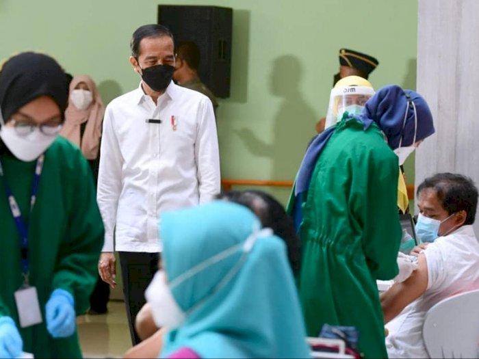 Tanya Jumlah Keterisian Tempat Tidur di Wisma Atlet, Jokowi: Saya Betul-betul Gemetar