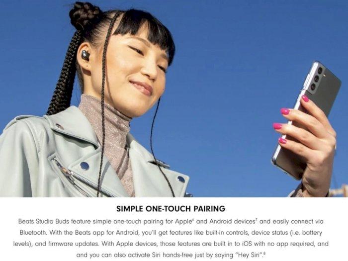 Apple Gunakan Samsung Galaxy S21 untuk Iklankan Beats Studio Buds Terbaru!