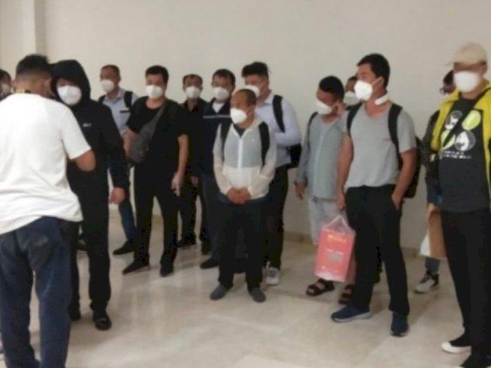 Satgas Karantina 20 TKA Asal China Setelah Tiba di Bantaeng, Tunggu Hasil Swab PCR Keluar