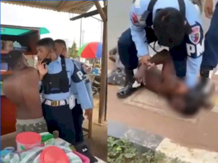 Viral Oknum Prajurit Injak Kepala Warga di Papua, TNI AU Minta Maaf
