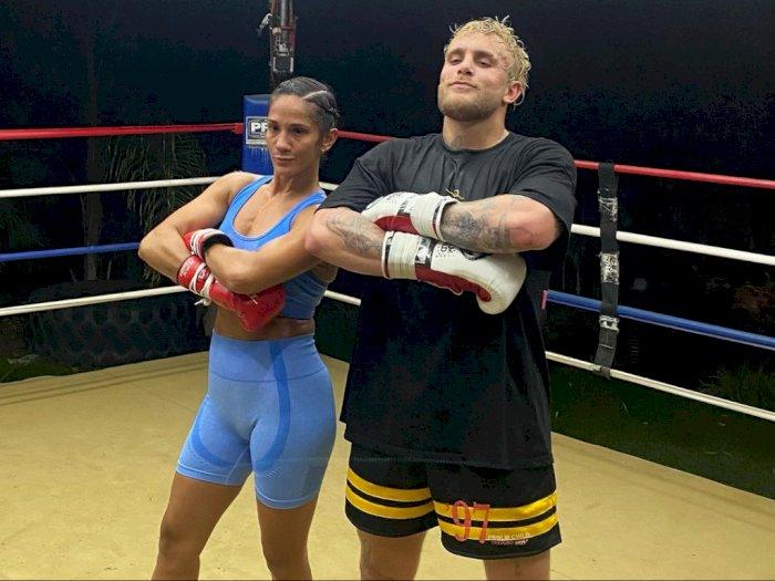 Petinju Wanita Amanda Serrano Puji Jake Paul Usai Latihan Bersama: Dia Petarung Sejati