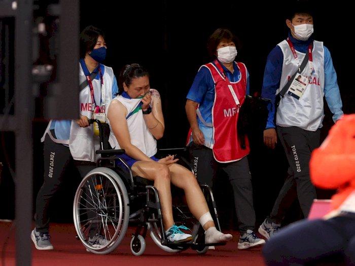 Cerita Pilu Pebulutangkis AS Menangis karena Cedera di Olimpiade Tokyo 2020