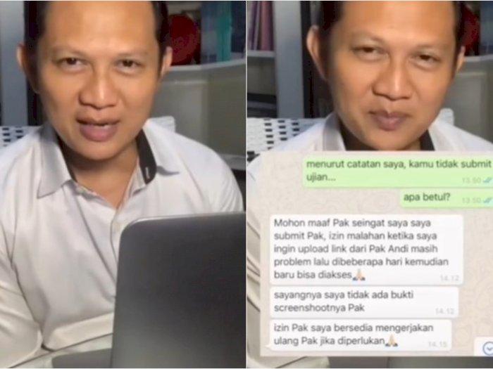 Respon Dosen Ini saat Mahasiswanya Minta 'Keadilan' Nilai Tuai Pujian dari Netizen