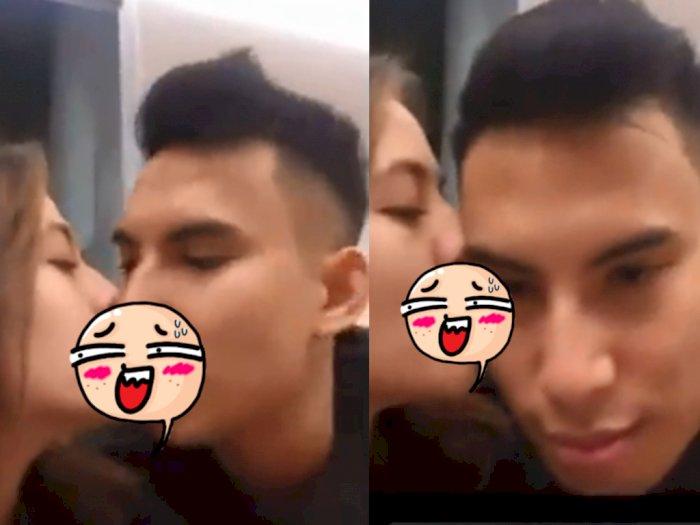 Viral Video 10 Detik Skandal Ciuman Bibir, Zara dan Okin Jadi Trending Topic