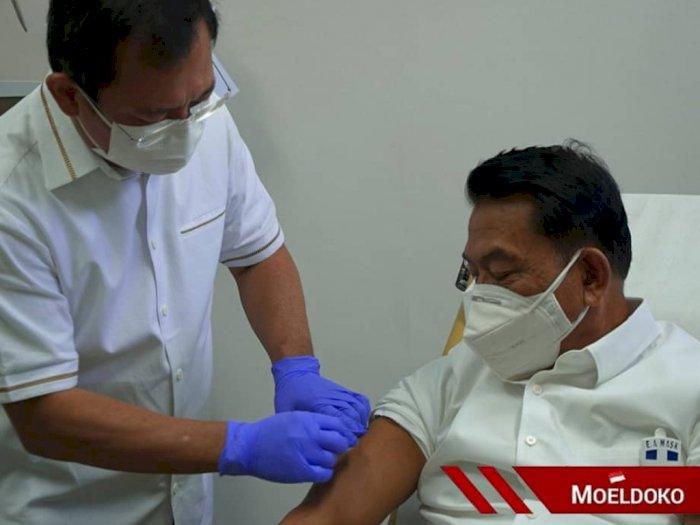 Moeldoko Disuntik Vaksin Nusantara, Yang Nyuntik dr Terawan Langsung