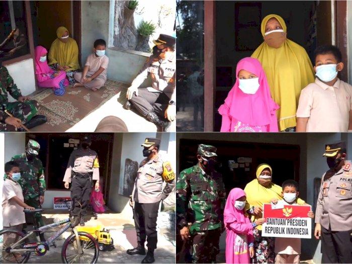 Presiden Jokowi Berikan Bantuan pada Azhar, Anak yang Ortunya Meninggal karena Covid-19