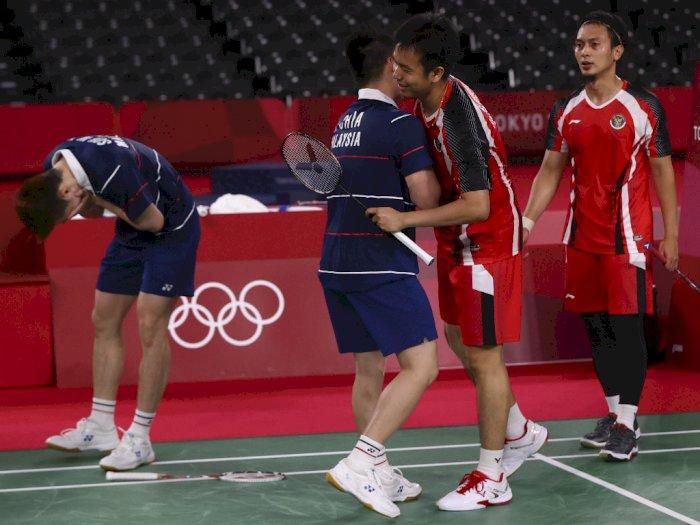 Olimpiade Tokyo 2020: Dikalahkan Aaron/Soh, The Daddies Gagal Rebut Medali Perunggu