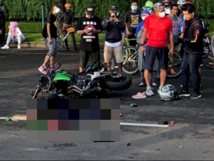 Fakta Kecelakaan Maut Tewaskan Ibu 3 Anak di Bintaro, Diduga Balap Liar Moge Sambil Konvoi