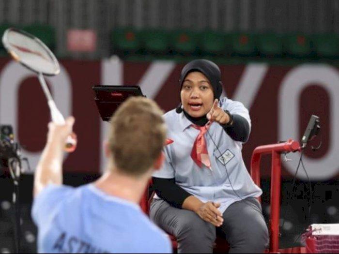 Jadi Wasit di Olimpiade, Guru SD di Surabaya Ini Ngaku Awalnya Nggak Paham Badminton