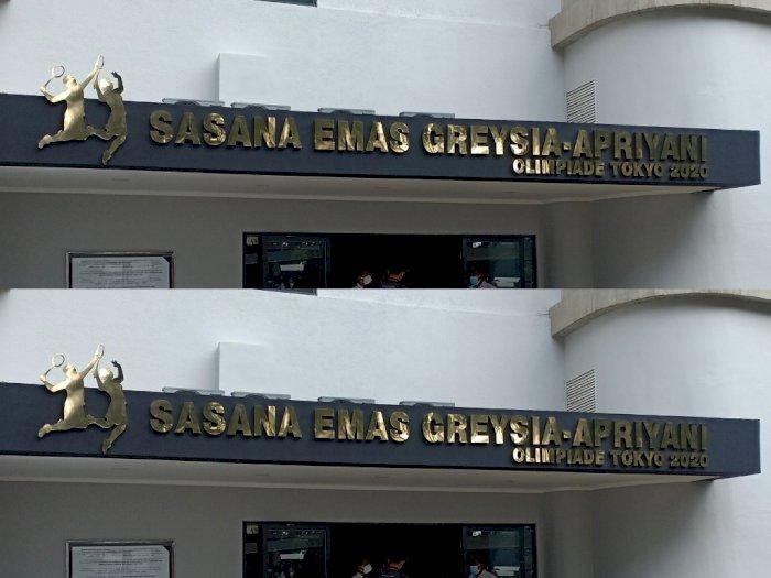 Greysia/Apriyani Diabadikan Jadi Nama Gelanggang di PPOP Ragunan, Netizen: Keren Banget!