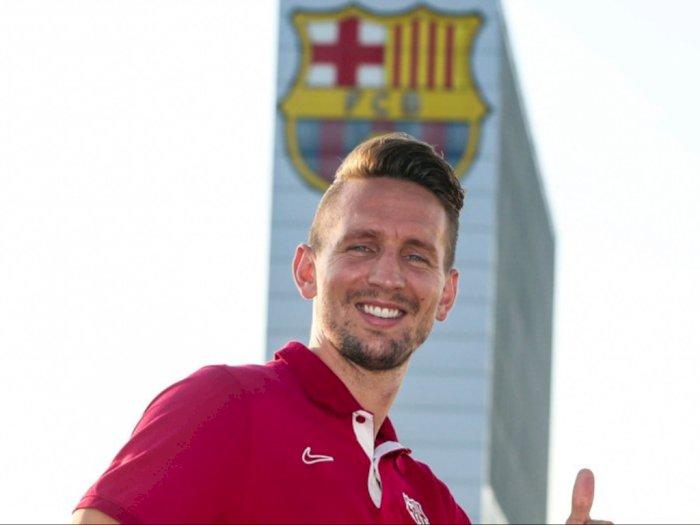Resmi Jadi Pemain Barcelona, Begini Komentar Luuk de Jong