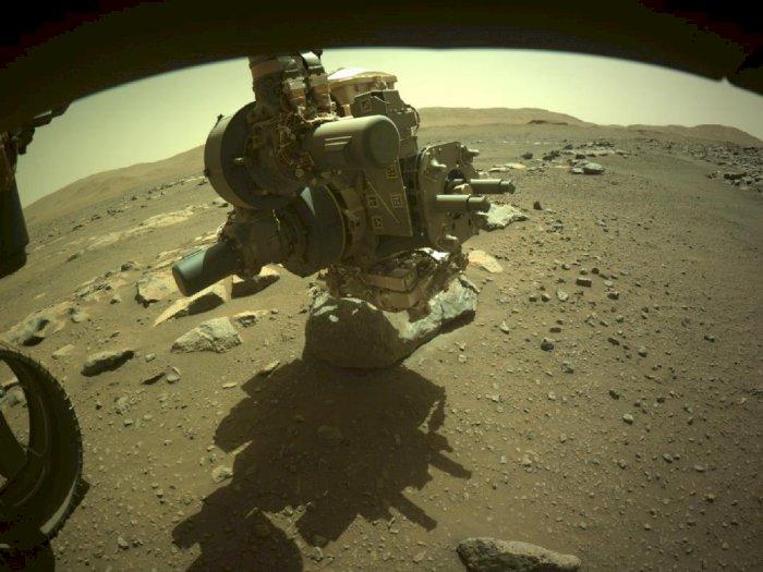 Rover Perseverance NASA Berhasil Amankan Sampel Batuan Mars untuk Pertama Kali