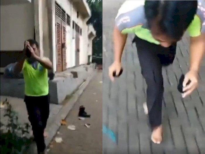 Satpam Perumahan Bintaro Bersujud Minta Maaf Usai Kepergok Mengintip Istri Orang di Toilet