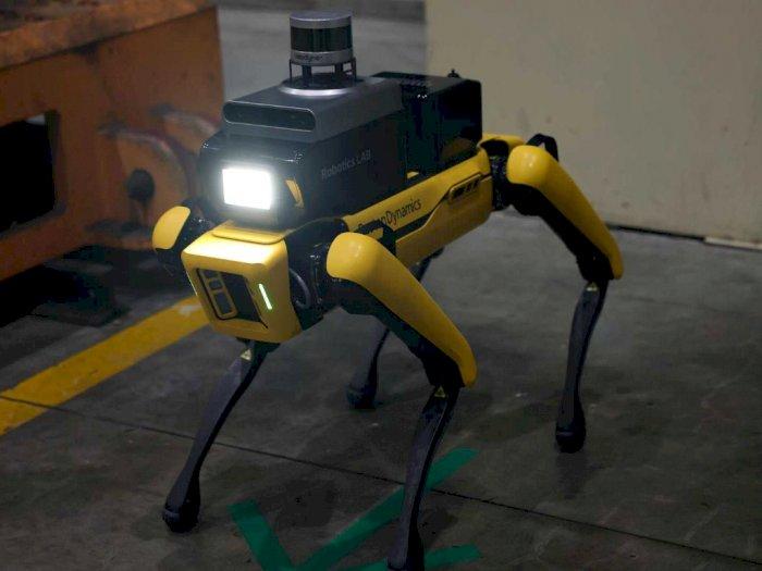 Hyundai Gunakan Robot Spot Buatan Boston Dynamics untuk Patroli di Pabriknya