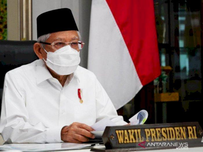 Wapres Ma'ruf Amin Sebut Indonesia Berpeluang Jadi Negara Terbesar Ekonomi Syariah