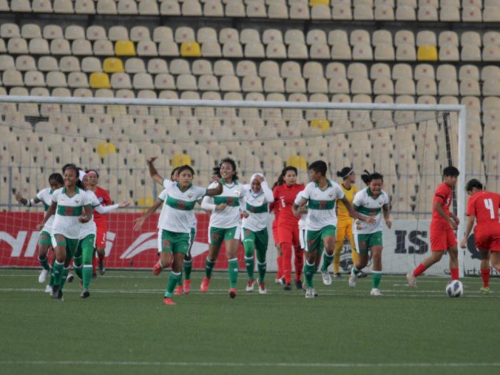 Timnas Indonesia Lolos ke AFC Women's Asian Cup India 2022