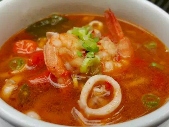 Enaknya Makan Tomyam Seafood Siang Ini, Coba Kita Buat Yuk!