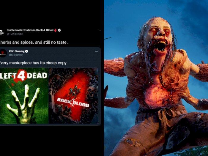 Developer Game Back 4 Blood dan KFC Gaming Saling Sindir di Twitter, Ada Apa?