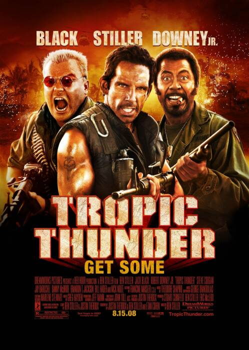 Tropic Thunder (2008) (DreamWorks Pictures)