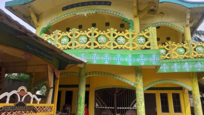 Istana Kerajaan Angling Dharma. (ist)